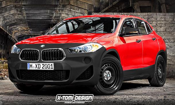 Stock 2018 BMW X2