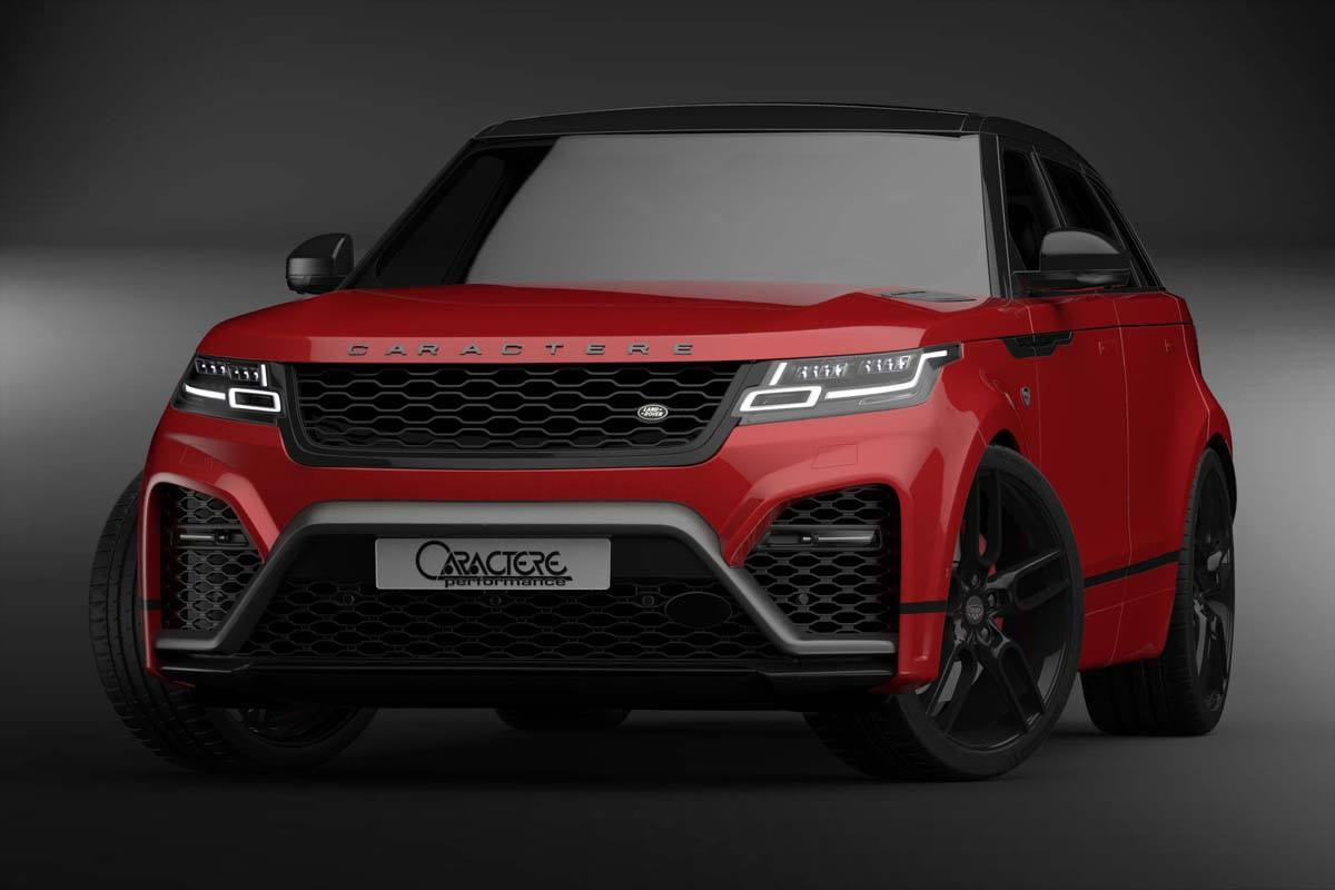 Caractere-Exclusive 2018 Range Rover Velar Modifiye