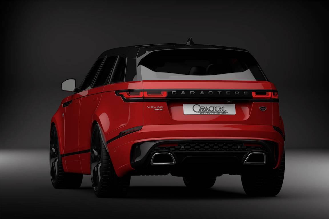 2018 Range Rover Velar Tuning