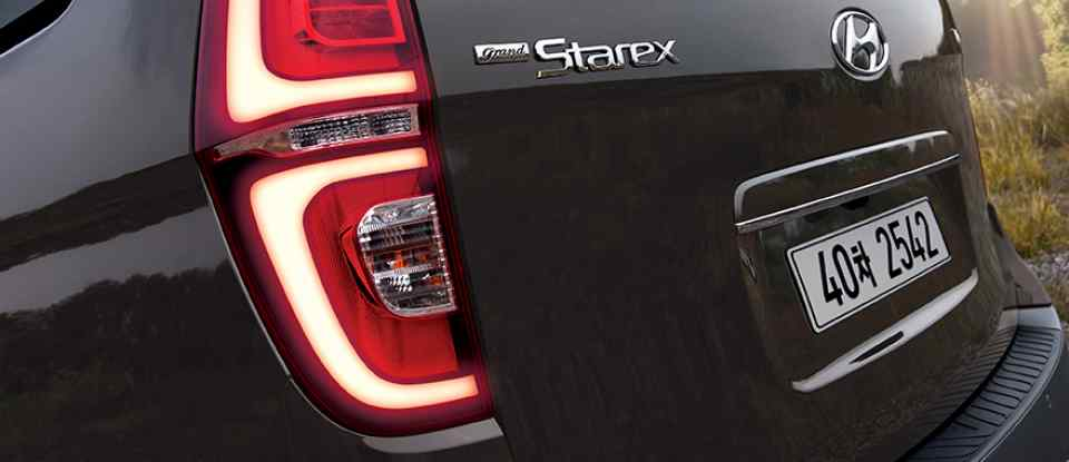 Makyajlı 2018 Hyundai Grand Starex