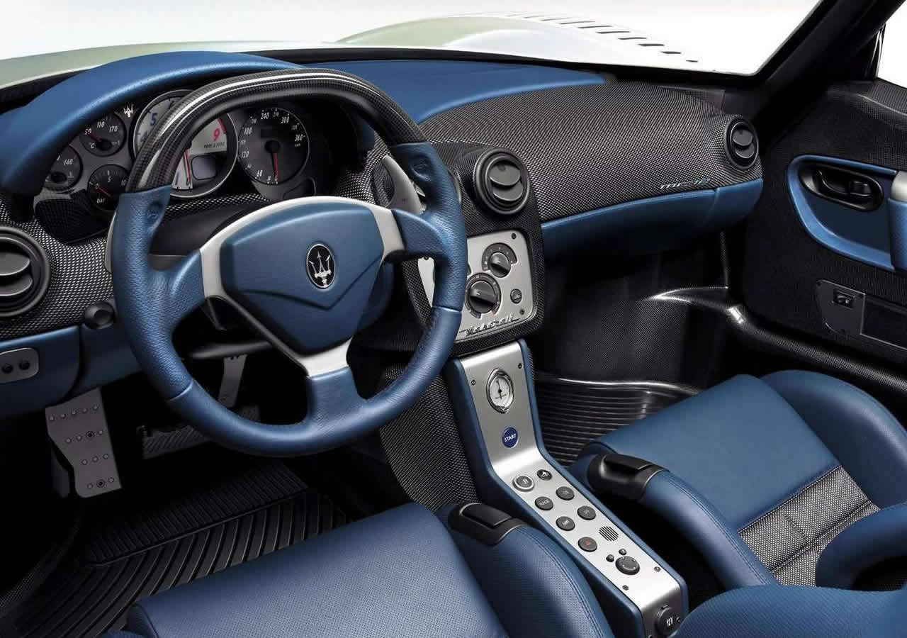 Maserati MC12 İçi