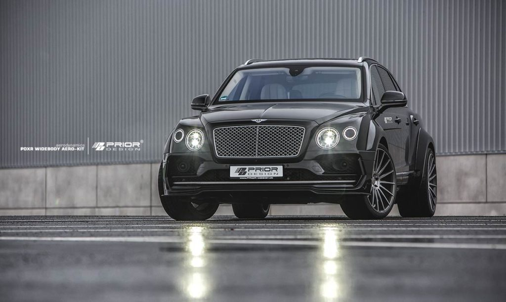 Prior-Design Bentley Bentayga PDXR Widebody Kit