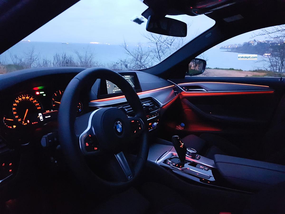 2018 Yeni BMW 520i M Sport İçi