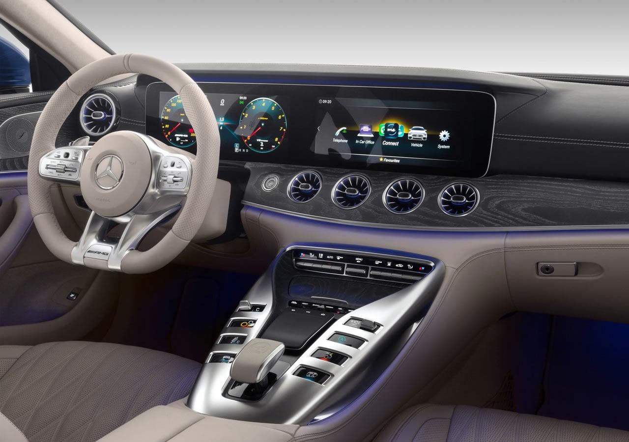 Mercedes-Benz AMG GT63 İç Fotoğrafları
