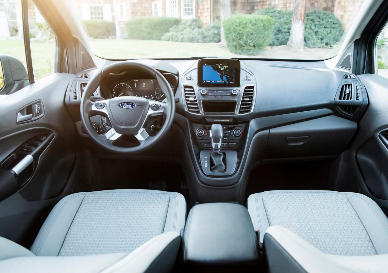 2019 Yeni Ford Transit Connect Wagon İçi