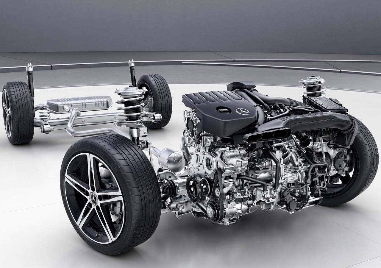 2019 Yeni Kasa Mercedes A Serisi Motoru
