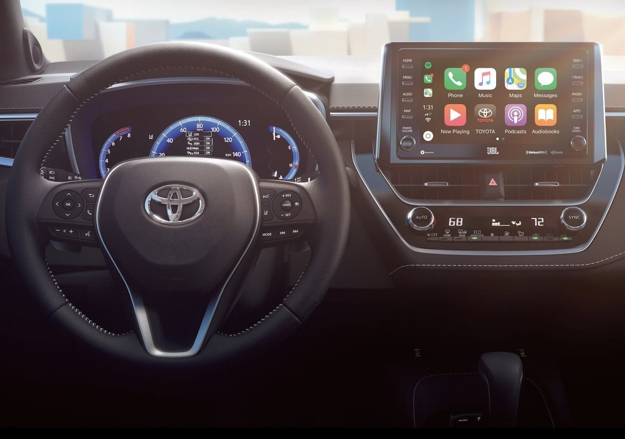 2019 Yeni Kasa Toyota Corolla Hatchback Kokpiti