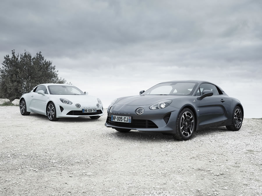Alpine A110 Pure ve Legende
