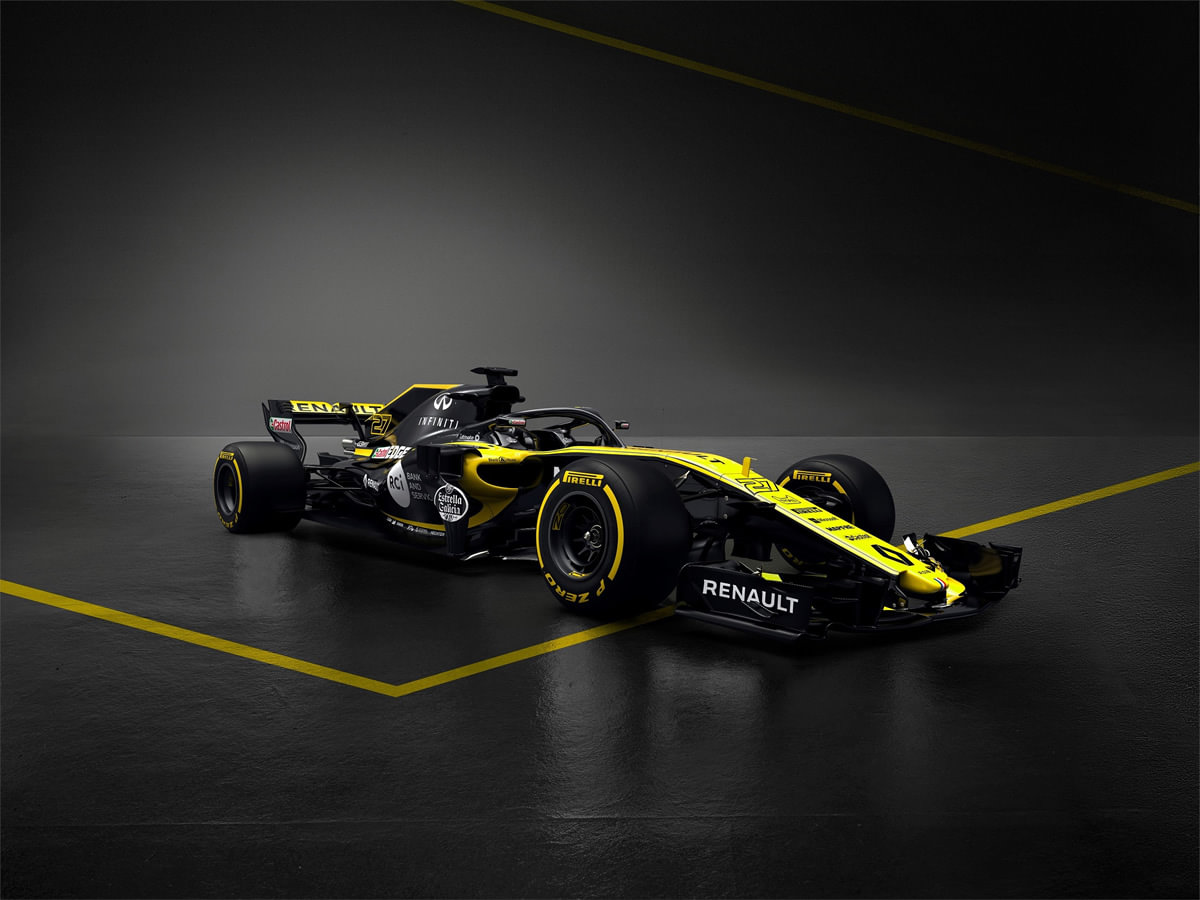 Renault Sport, 2018 Formula 1 Aracı