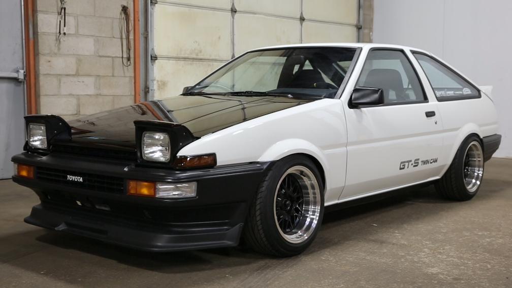 Toyota Corolla AE86 Tarihçesi