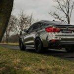 BMW X6 M50d Modifiye