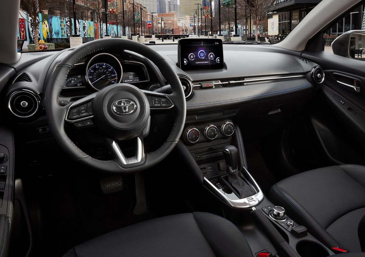 2019 Yeni Kasa Toyota Yaris Sedan Kokpiti
