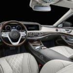 2019 Yeni Mercedes-Benz S650 Pullman Maybach Kokpiti