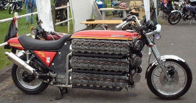 48 Silindirli Motosiklet