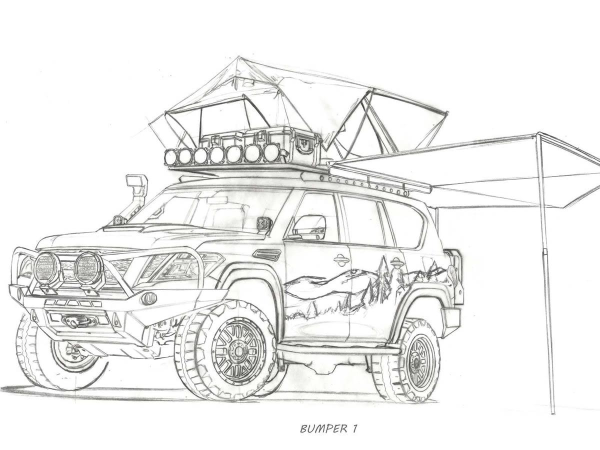 Nissan Armada Mountain Patrol Özellikleri