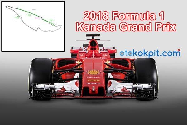 2018 Formula 1 Kanada Grand Prix Saat Kaçta