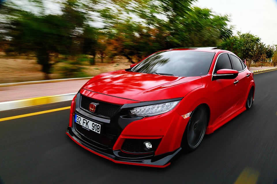 2018 Honda Civic Type-R Body Kit