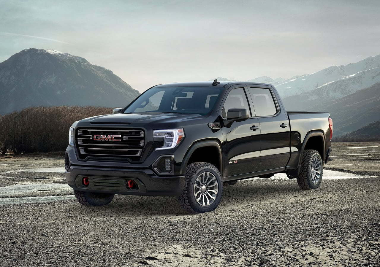 2019 Yeni GMC Sierra AT4