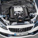 Makyajlı 2019 Yeni Mercedes-AMG C63 S Coupe Motoru