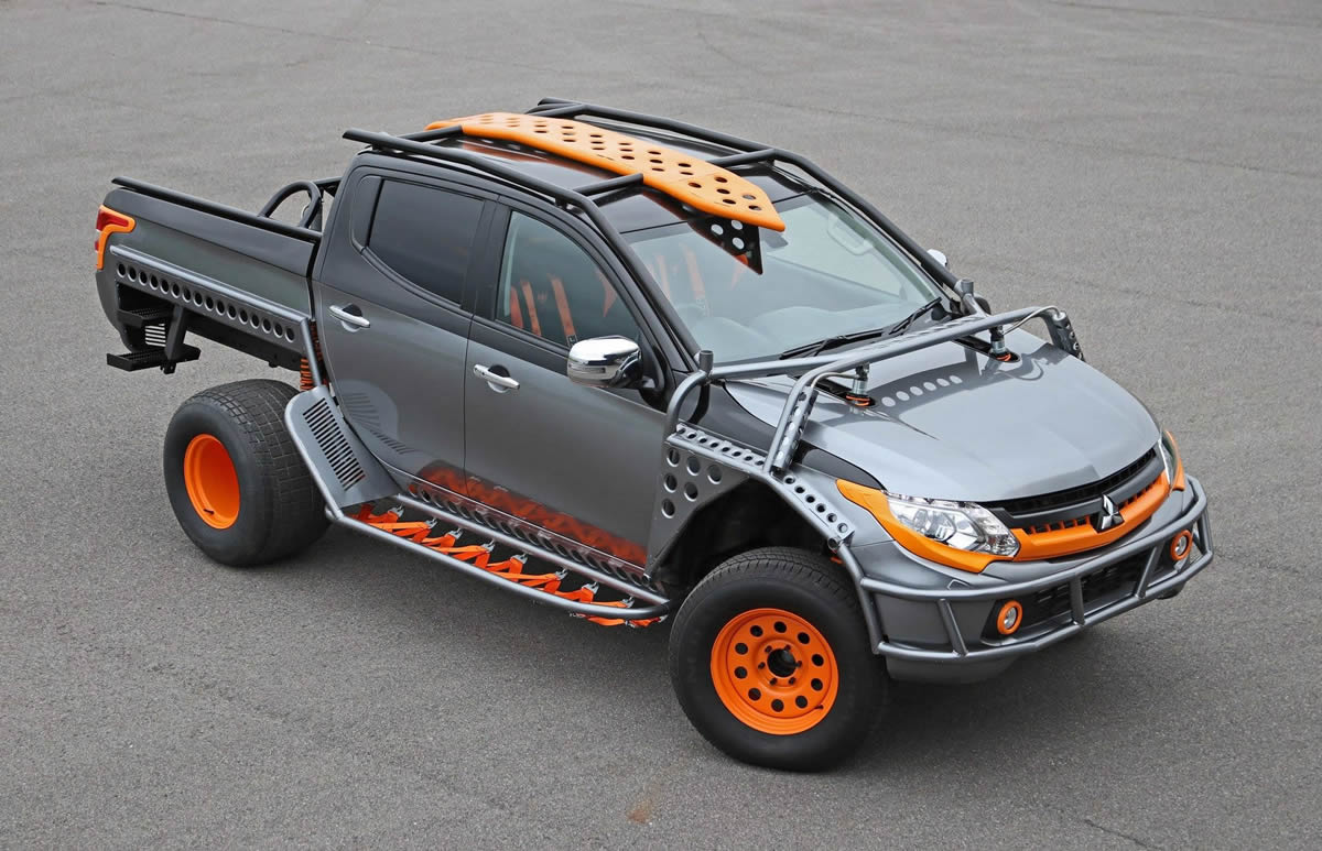 Fast and Furious Live Mitsubishi L200