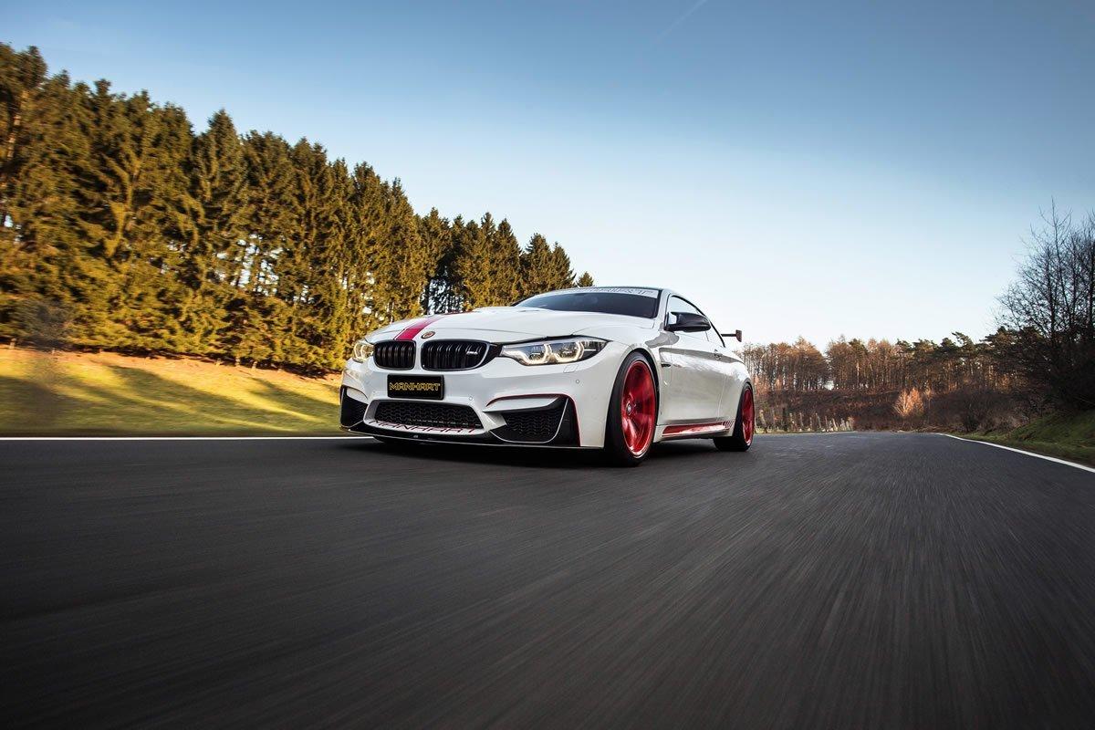 Manhart Tuning 2018 BMW MH4 550 Modifiye