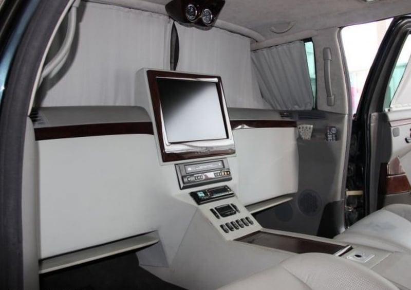 Zırhlı Mercedes-Pulmann S600 W220 Donanımları