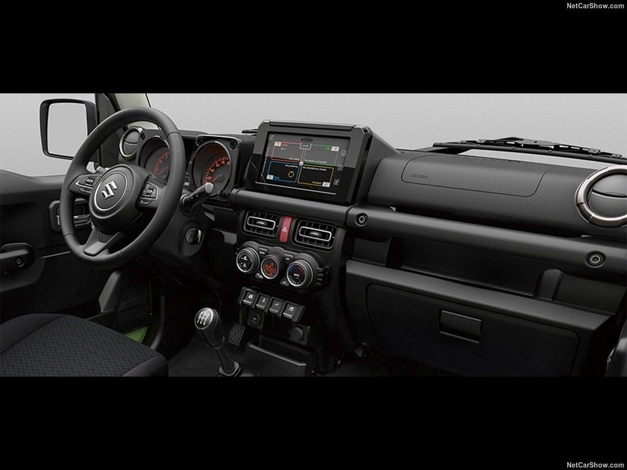 Yeni Kasa Suzuki Jimny MK4 Kokpiti