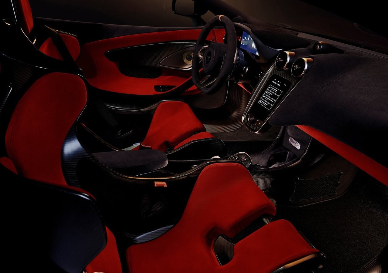 Yeni McLaren 600LT İçi