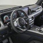 2018 Brabus Mercedes G 500 Kokpiti