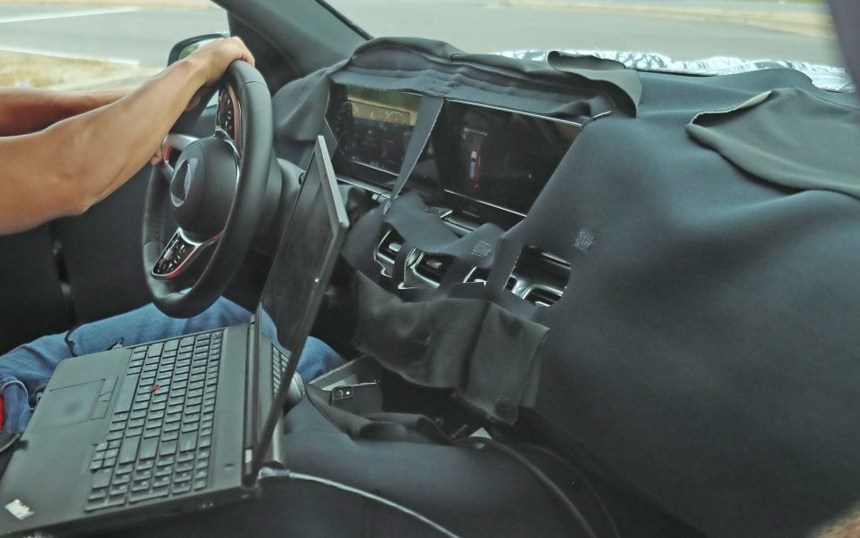 Yeni Kasa Mercedes-Benz GLS Kokpiti