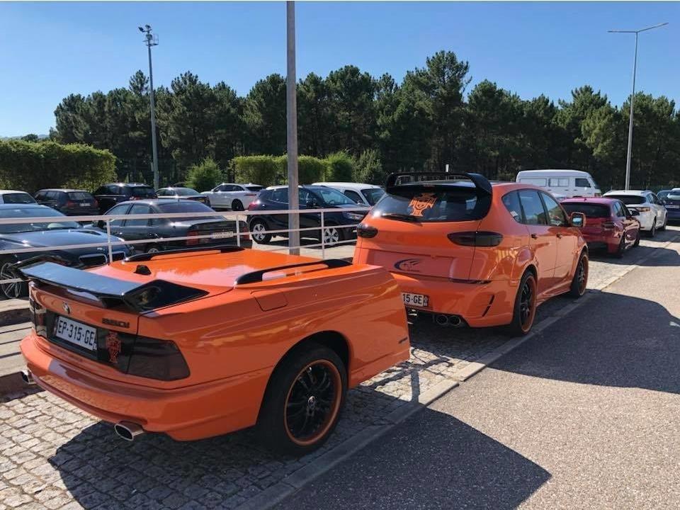 BMW 850i Römork Fotoğrafları
