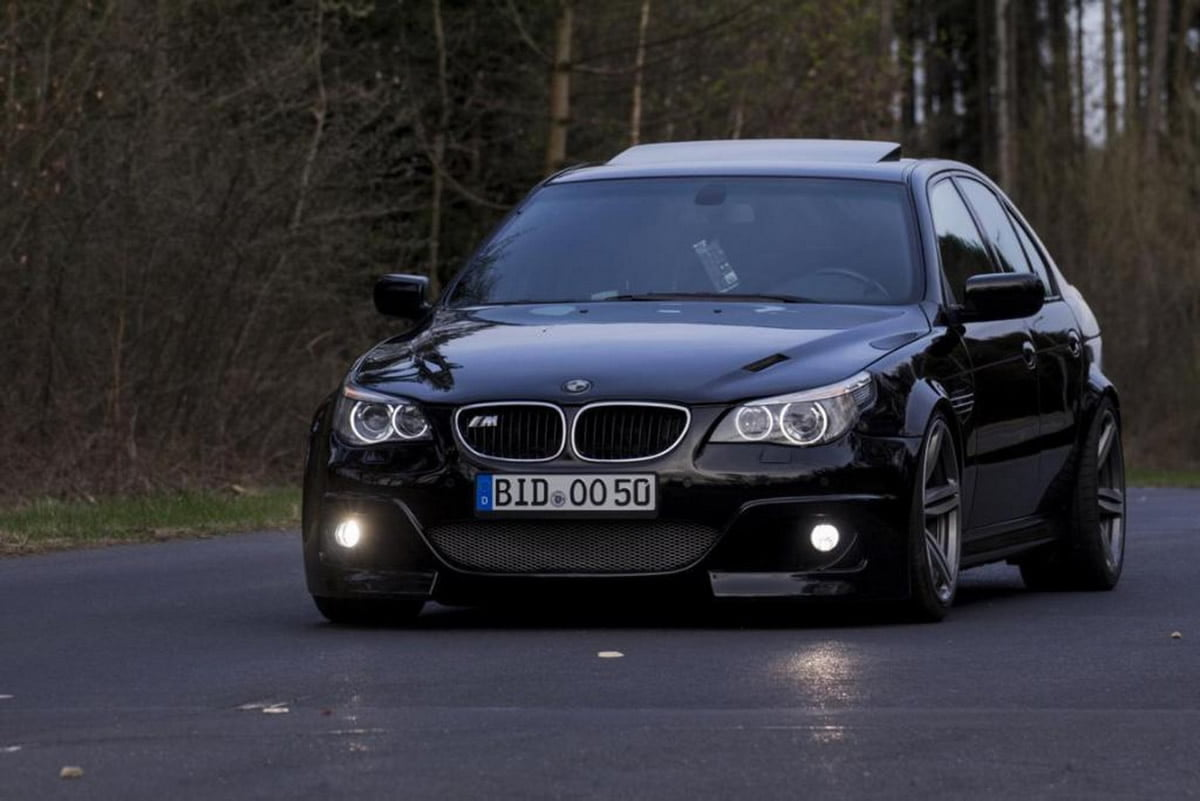 E60'a Dönüşen BMW E39 M5