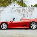 Ferrari F50 Boyutu