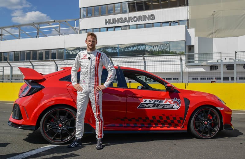 Honda Civic Type R Jenson Button Rekor