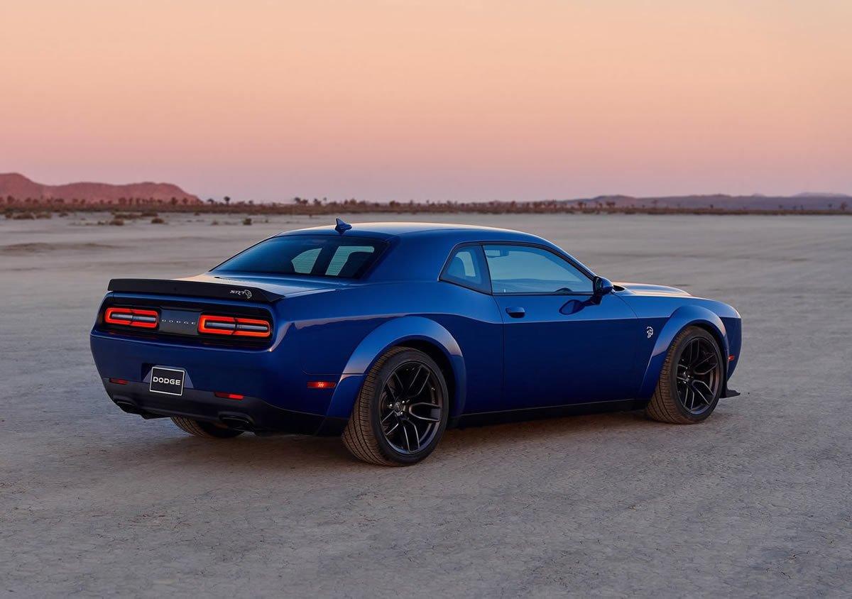 Makyajlı 2019 Dodge Challenger SRT Hellcat