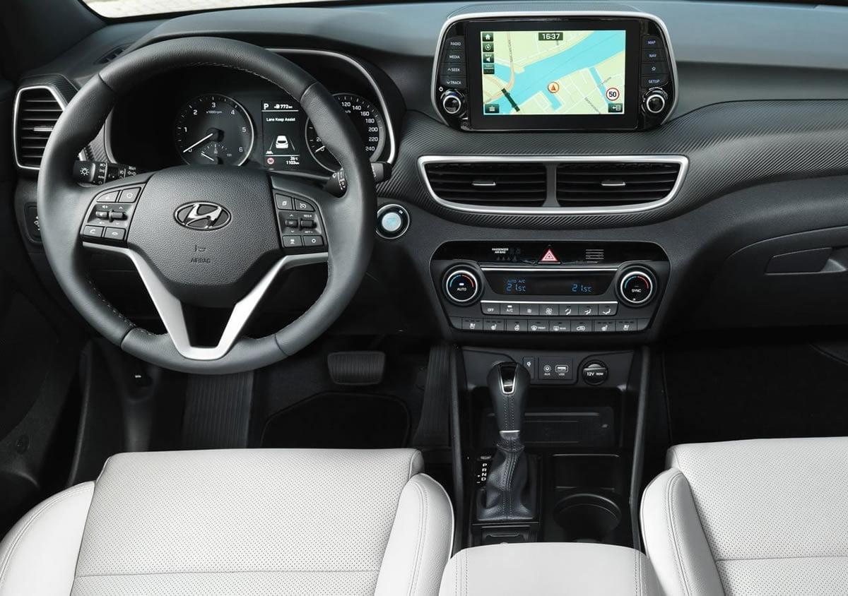Makyajlı 2019 Hyundai Tucson 1.6 CRDi Kokpiti