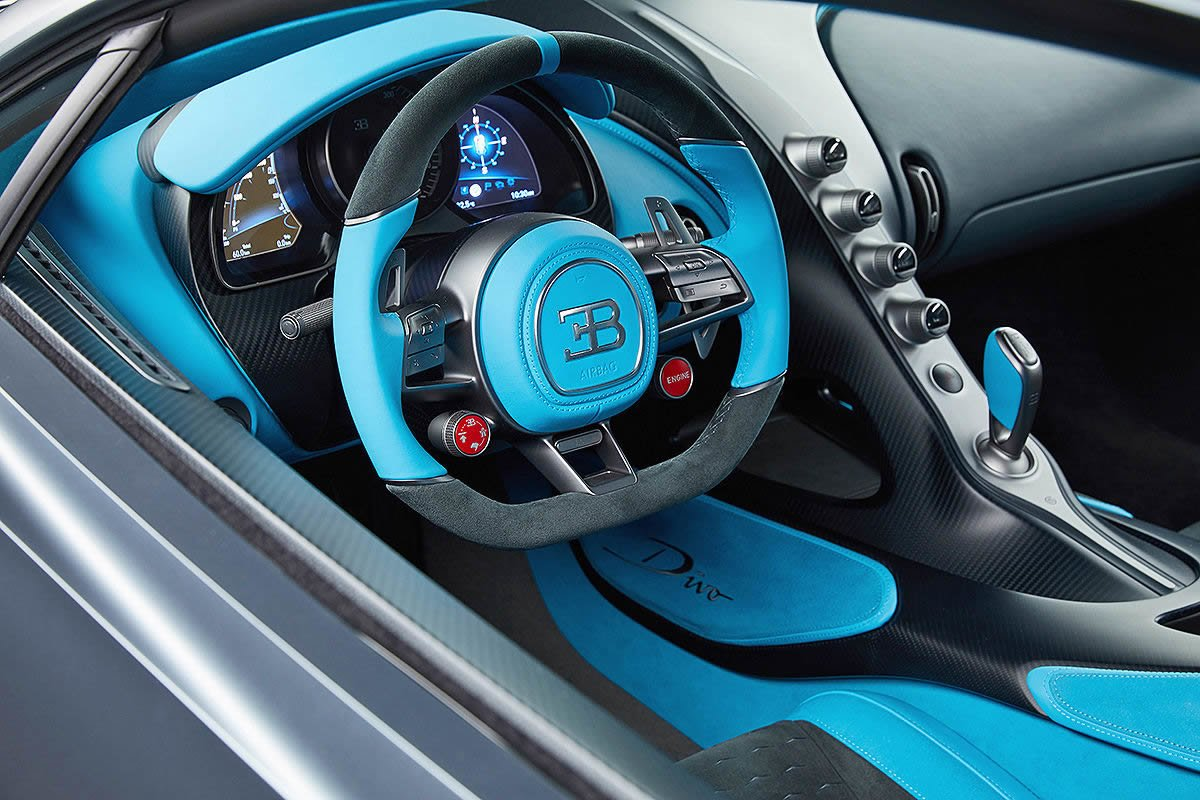 Yeni Bugatti Divo İçi