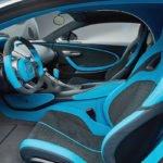 Yeni Bugatti Divo Kokpiti
