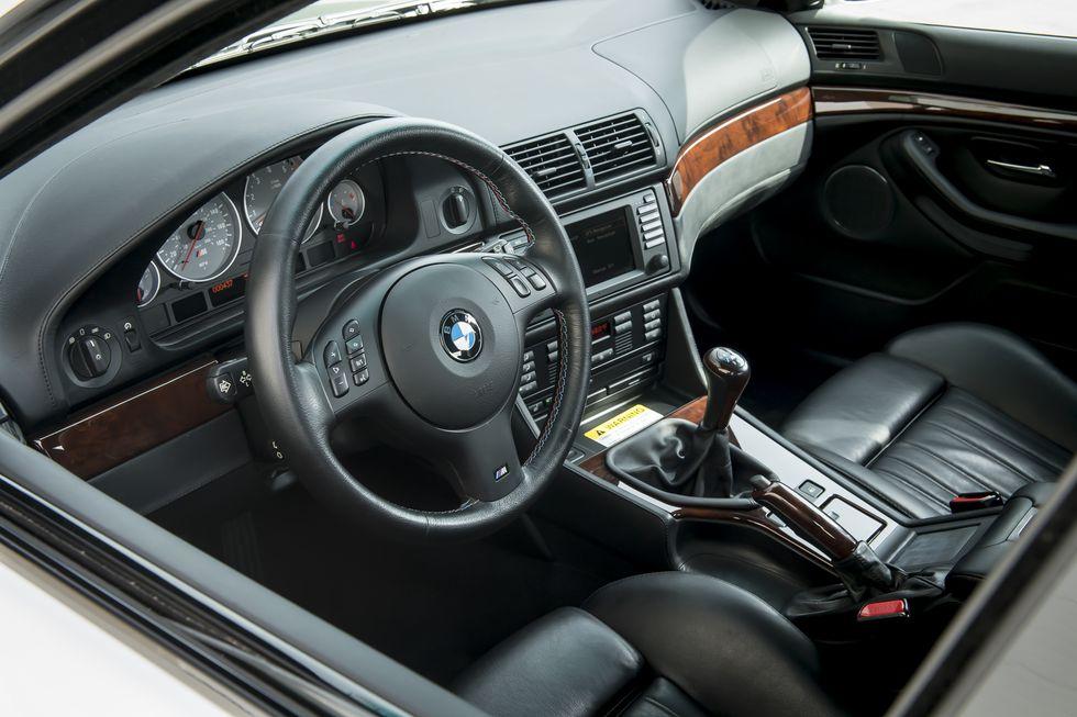 BMW M5 E39 Kokpiti