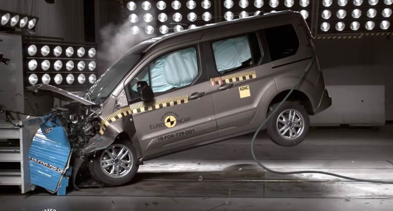 2018 Ford Tourneo Connect Çarpışma Testi