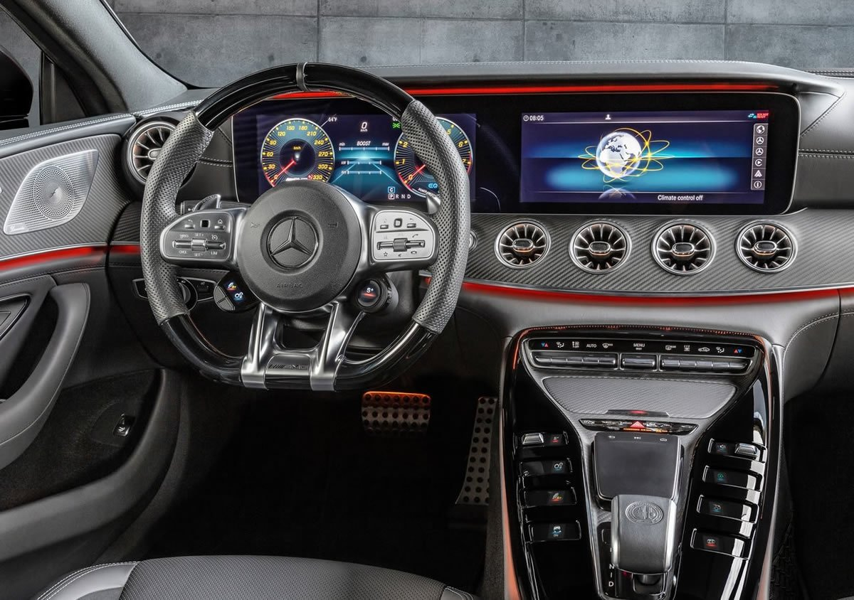 Yeni Mercedes-AMG GT43 Kokpiti