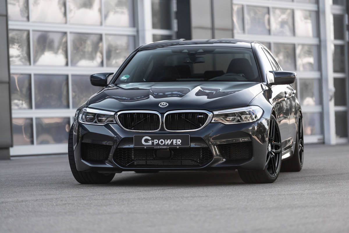 G-Power 2018 BMW M5 Modifiye