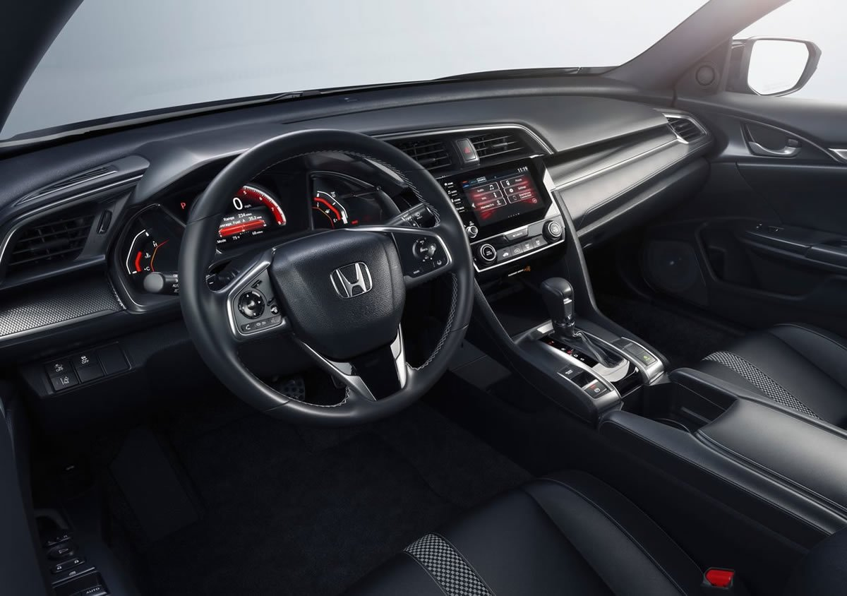 2019 Honda Civic Sedan Kokpiti
