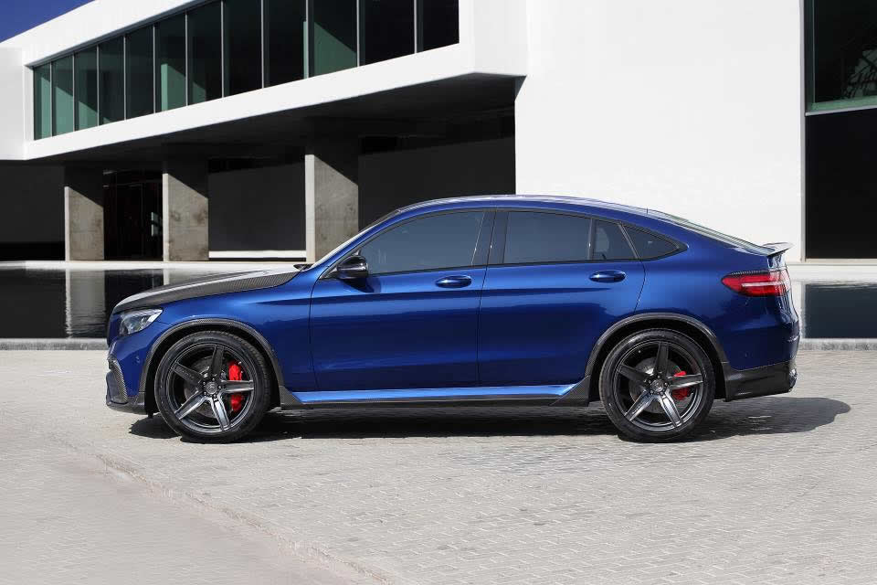 2018 Mercedes-AMG GLC 63 Coupe Tuning