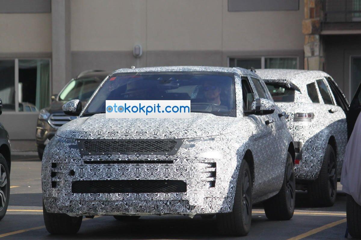 2019 Yeni Kasa Range Rover Evoque MK2
