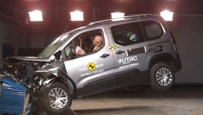 2018 Opel Combo - Citroen Berlingo - Peugeot Rifter Euro NCAP