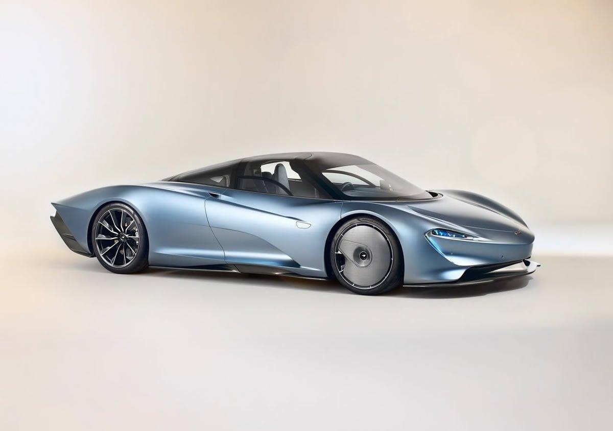 2020 Yeni McLaren Speedtail Teknik Özellikleri