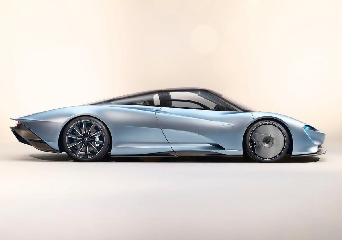 2020 Yeni McLaren Speedtail Özellikleri