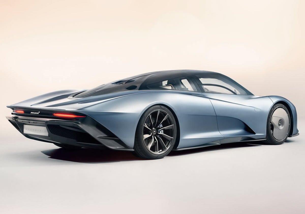 2020 Yeni McLaren Speedtail Donanımları