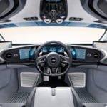 Yeni McLaren Speedtail Kokpiti